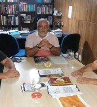 Sindilojas recebe visita do Superintendente do MTE